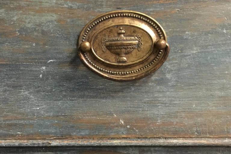 Early 19th Century Period Swedish Gustavian Secretaire Cabinet 5
