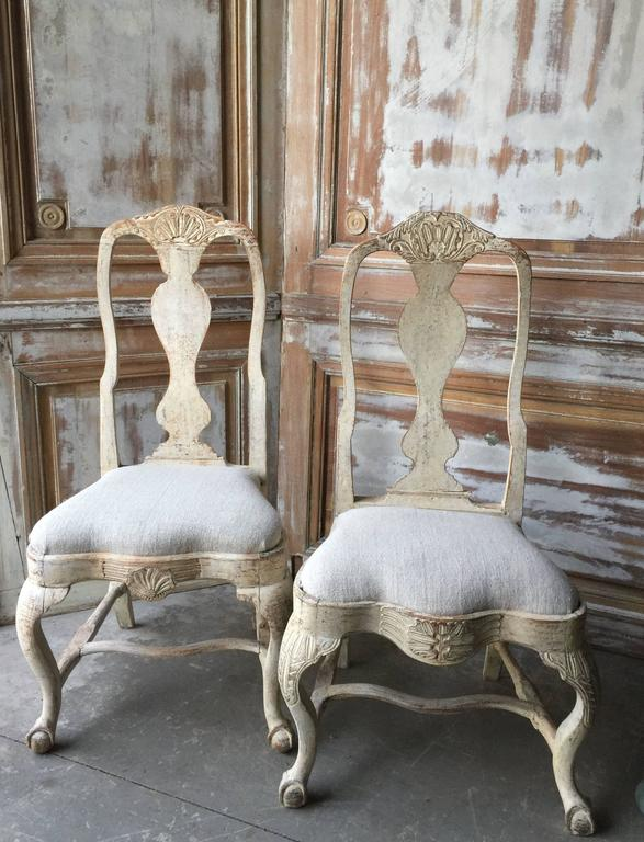 18th Century Period Swedish Chair For Sale 3