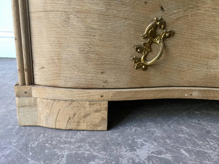 18th Century Danish Rococo Chest of Drawers For Sale 4