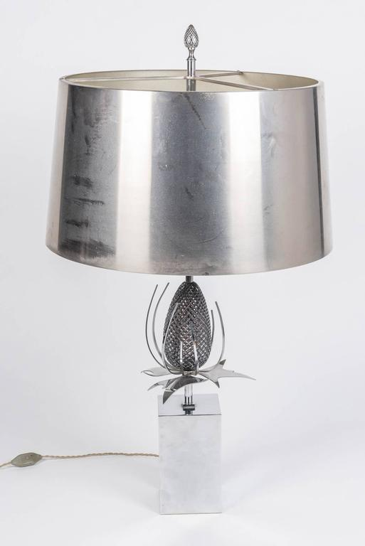 French Pair of Chardon Table Lamps by Maison Charles For Sale