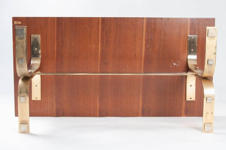Aldo Tura midcentury Parchment Covered Low Table, Italy, circa 1960-1970 9