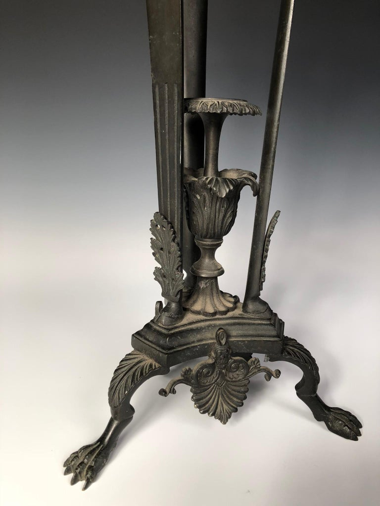 19th Century Italian Grand Tour Oil Lamp In Good Condition For Sale In Kensington, MD