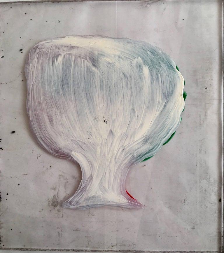 Acrylic Gio Ponti Portrait on Perspex of