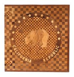 American Victorian Floor Inlay Panel