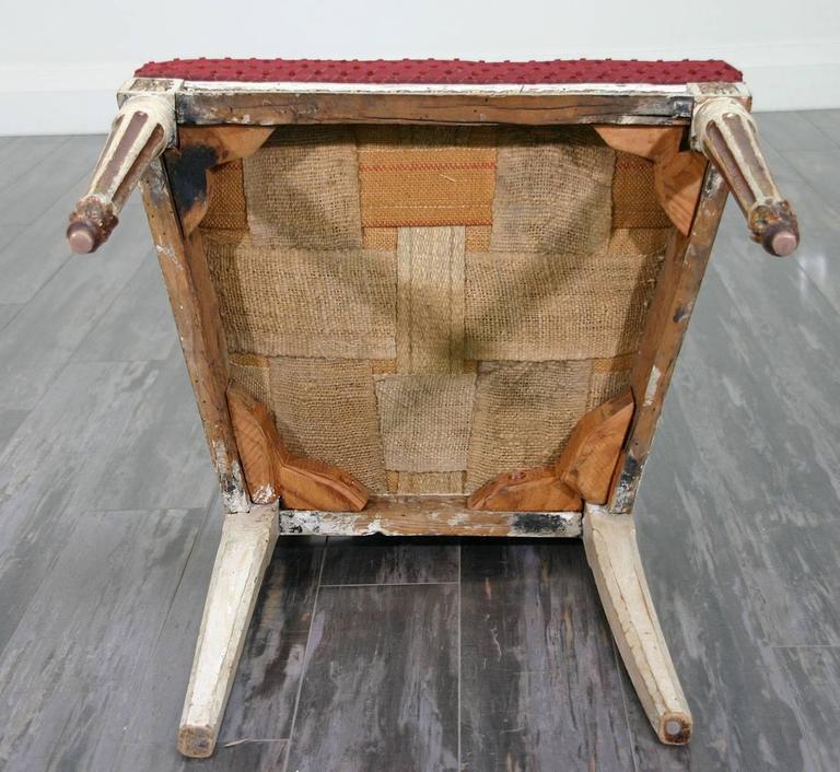 Beautiful Set of Ten 18th Century Italian Venetian Side Chairs For Sale 5