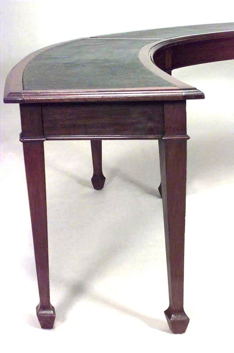 Large Th C English HorseshoeShaped Mahogany Table For Sale At - Horseshoe conference table