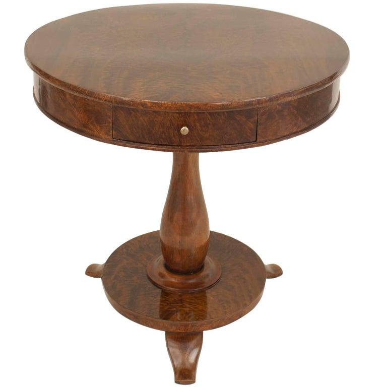 Continental Mahogany End Table