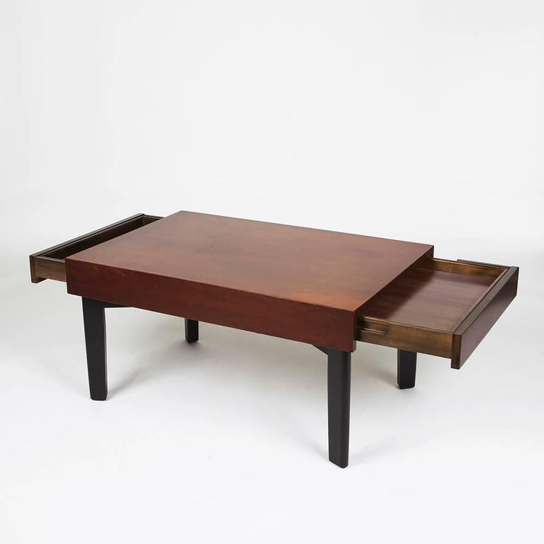 George Nelson Extension Coffee Table With Trays By Herman Miller For Sale At 1stdibs