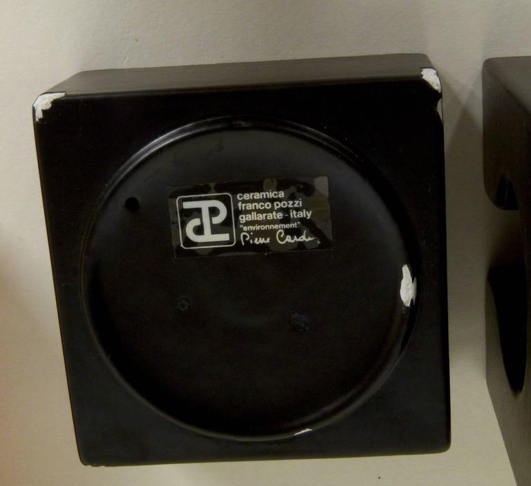 Six-Piece Ceramic Desk Set by Pierre Cardin 8