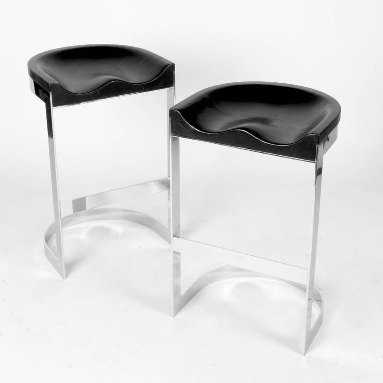 Set Of Warren Bacon Stools For Sale At 1stdibs