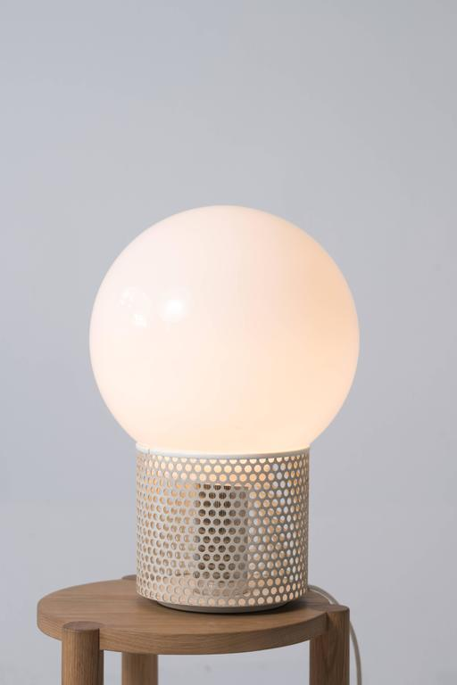 Mid-Century Modern Orb Lamp by Michel Boyer For Sale
