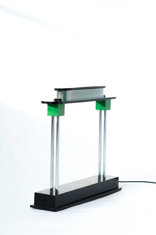 Pausani Desk Lamp Ettore Sottsass for Artemide 2