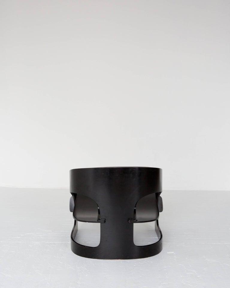 Italian Joe Colombo Plywood Lounge Chair '4801' For Sale