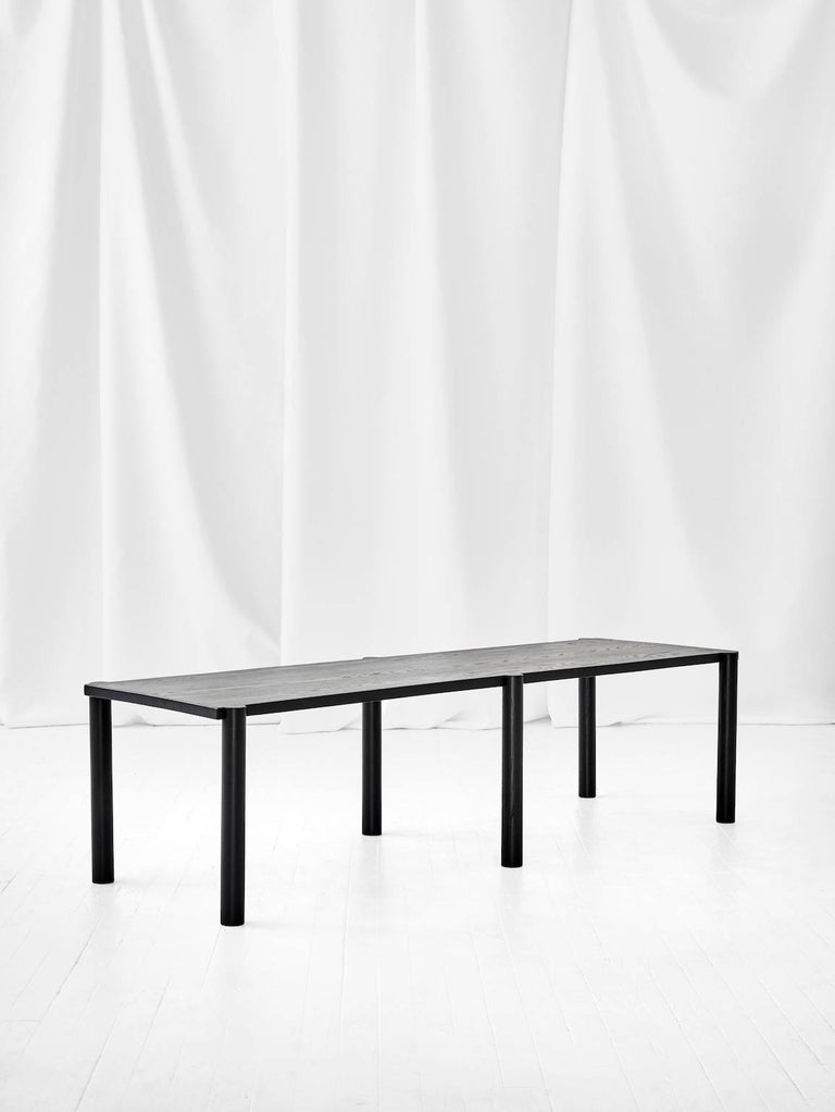 WC5 Bench by ASH NYC in Black Oak 2