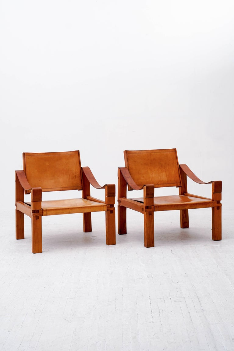 Pierre Chapo S10 Lounge Chairs  2