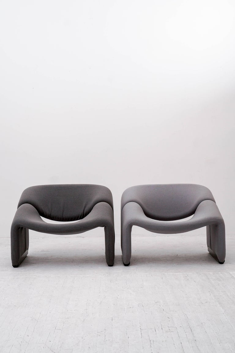 Mid-Century Modern Groovy Chairs by Pierre Paulin for Artifort  For Sale