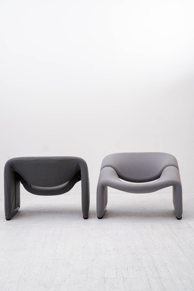 Groovy Chairs by Pierre Paulin for Artifort  In Excellent Condition For Sale In Brooklyn, NY