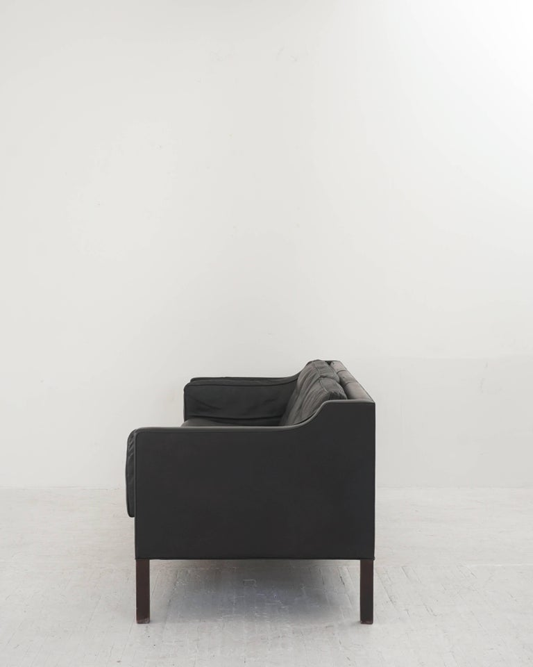 Leather Børge Mogensen Three-Seat Sofa 2