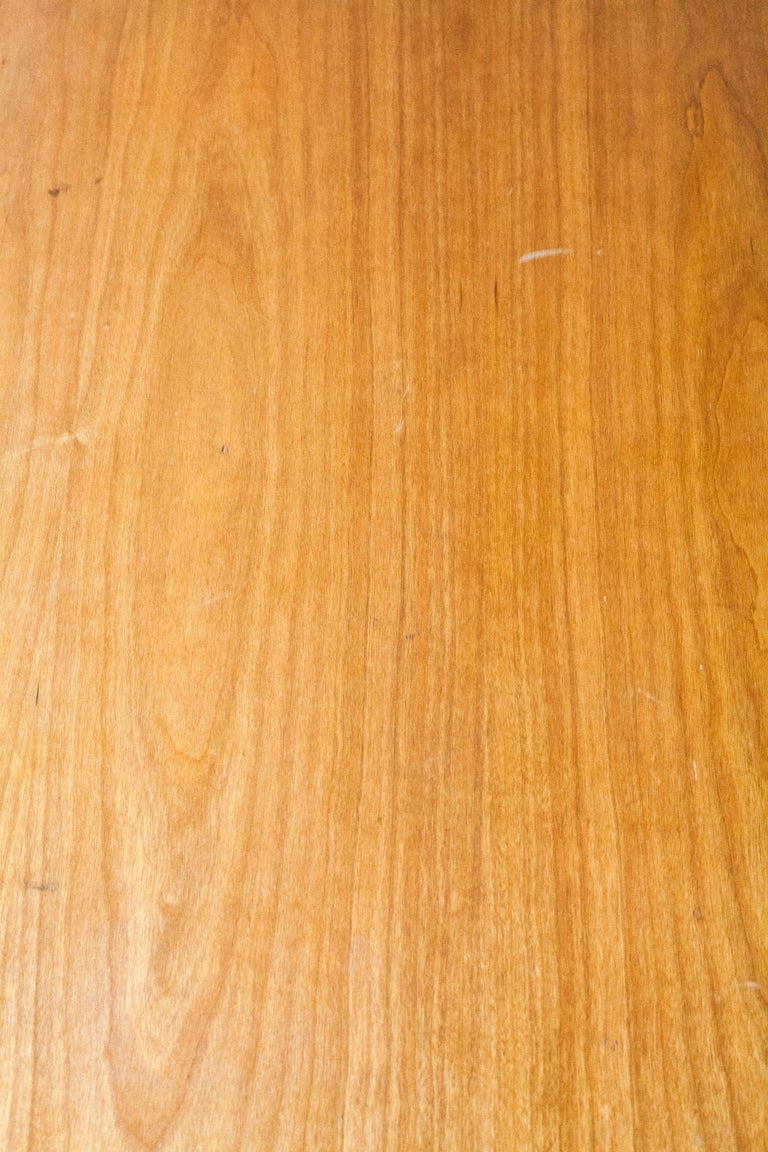 Oiled White Oak Italian Chest of Drawers For Sale 1