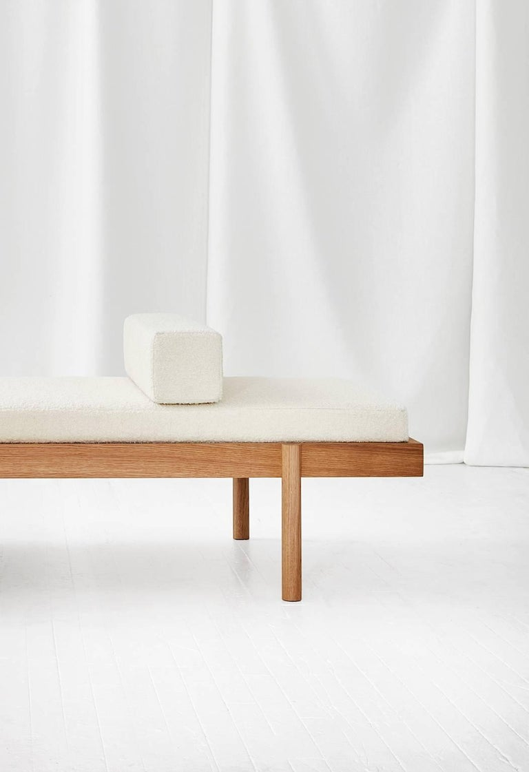 WC2 Daybed by ASH NYC in White Oak 5