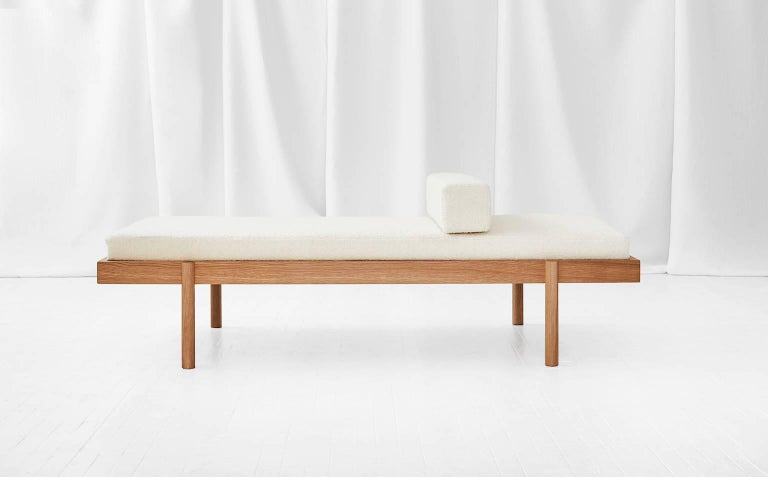 WC2 Daybed by ASH NYC in White Oak 2
