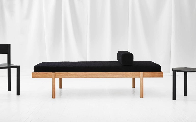 WC2 Daybed by ASH NYC in White Oak 6