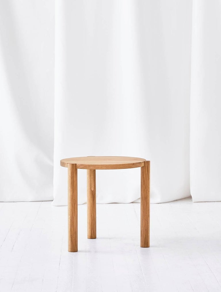 WC4 Side Table by ASH NYC in White Oak  2