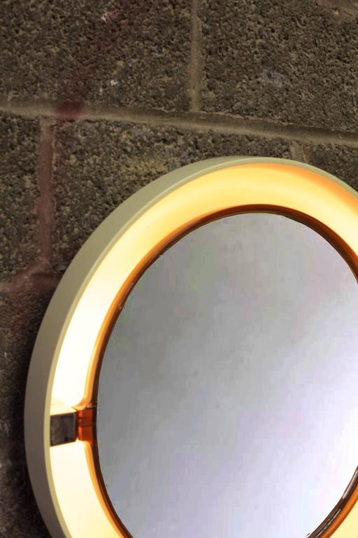 Allibert Back-Lit Mirror In Good Condition For Sale In Brooklyn, NY
