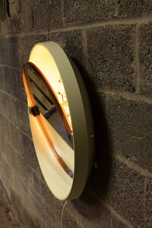 Plastic Allibert Back-Lit Mirror For Sale