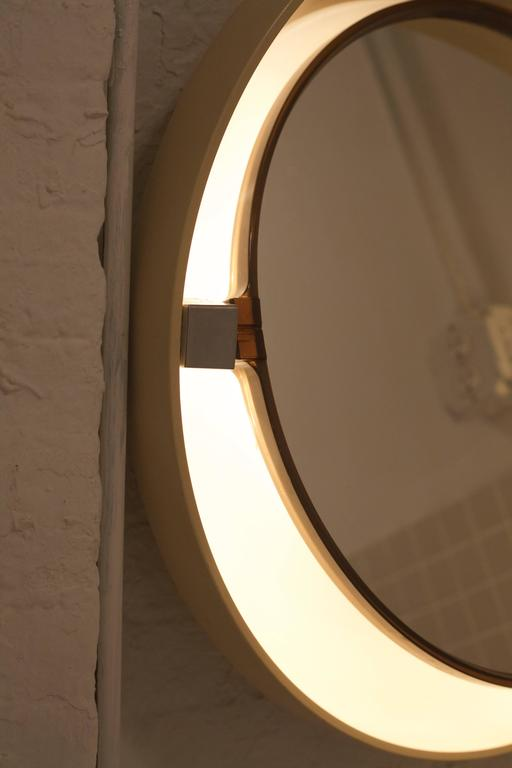 French Allibert Back-Lit Mirror For Sale