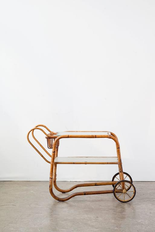 Viggo Boesen Bamboo Bar Cart 3