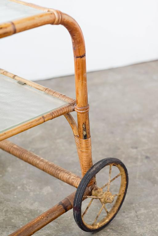 Viggo Boesen Bamboo Bar Cart 5