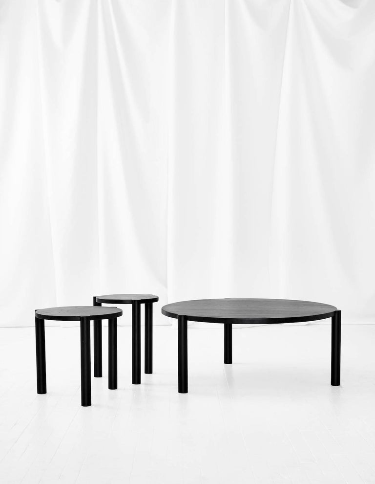 WC3 Stool by ASH NYC in Black Oak 3