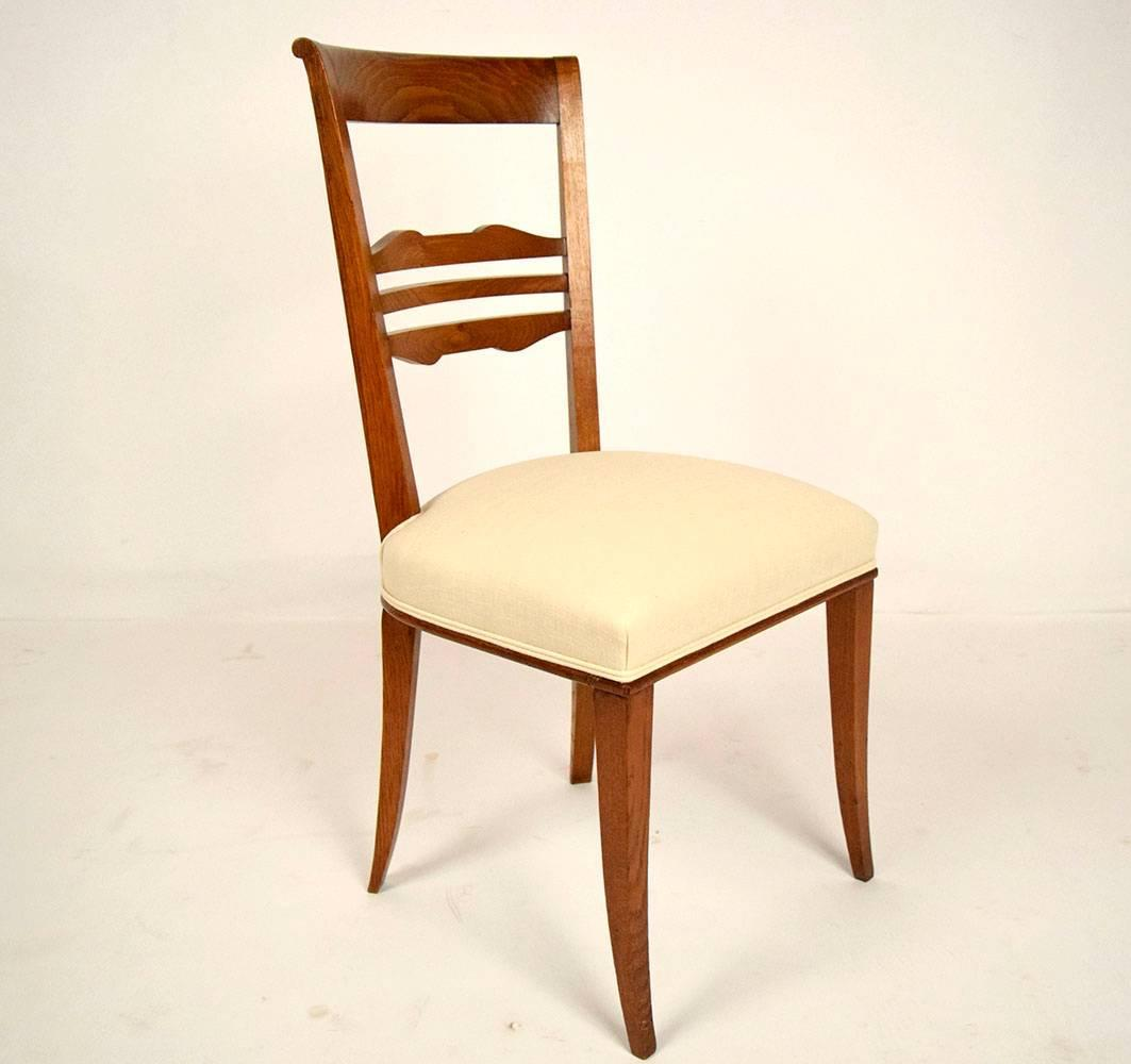 Set Of Eight Regency Style Dining Chairs At 1stdibs