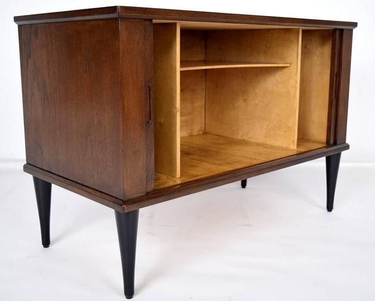 Danish mid century modern style nightstand for sale at 1stdibs for Modern nightstands for sale