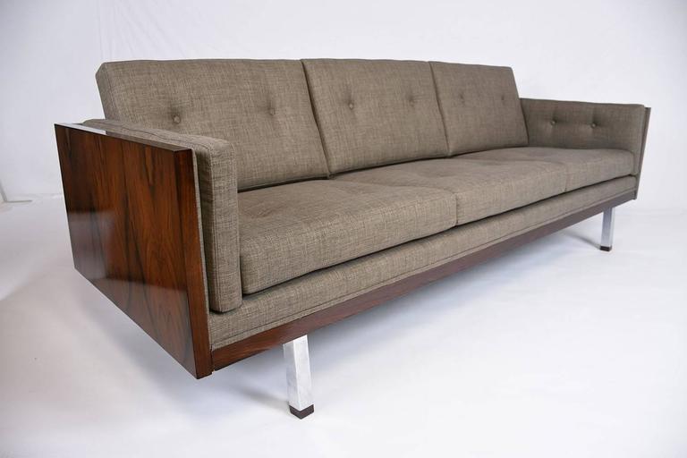 midcentury modern milo baughman cube sofa 2