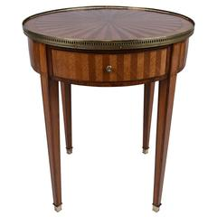 French Louis Xvi Inlay Side Table