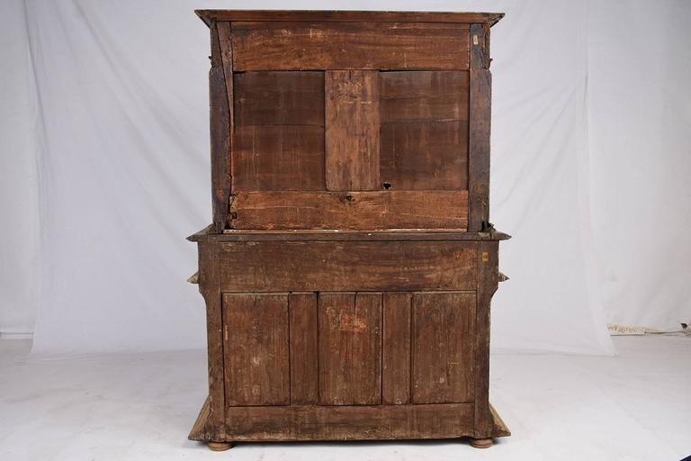 Early 19th Century French Bleached Wood Buffet For Sale 6