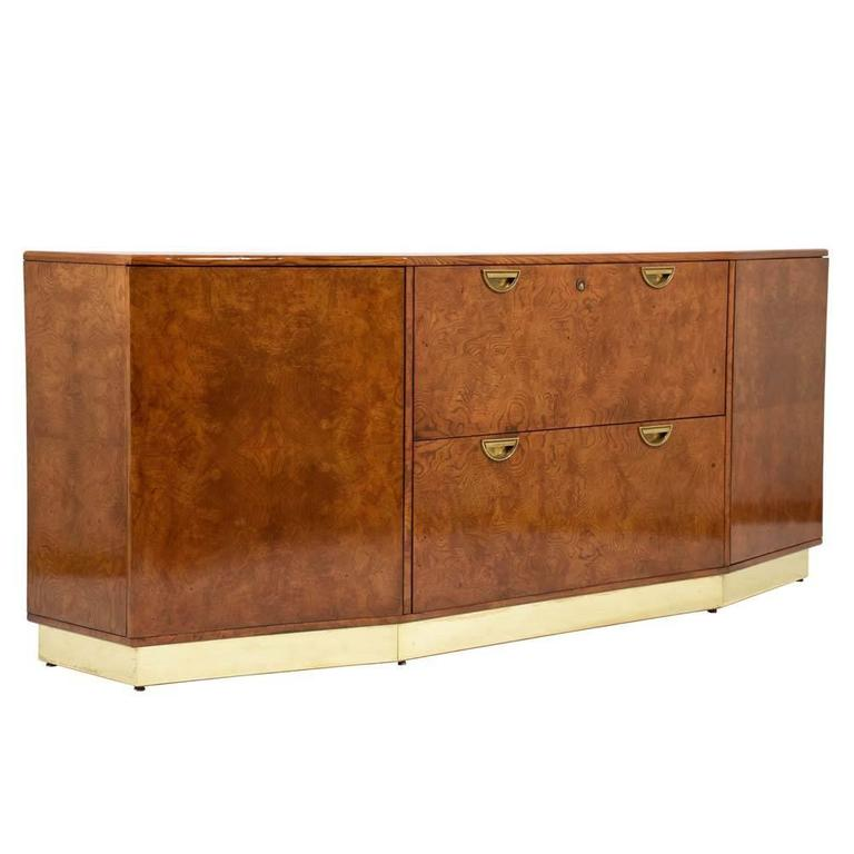 Mid Century Modern Style Office Credenza For Sale At 1stdibs