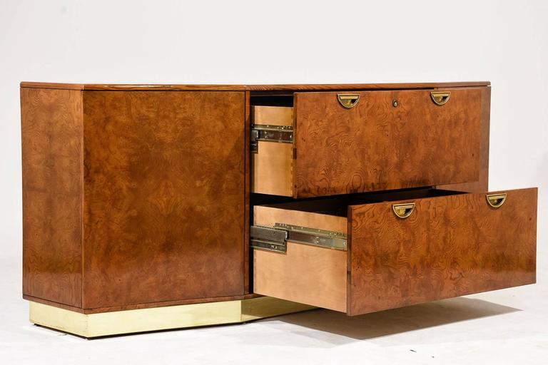 Mid century modern style office credenza for sale at 1stdibs for Modern office credenza