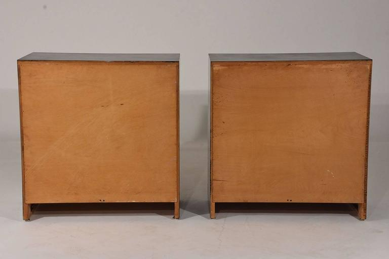 Pair of Dorothy Draper-Style Chest of Drawers 10