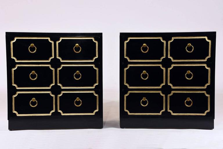 Pair of Dorothy Draper-Style Chest of Drawers 2