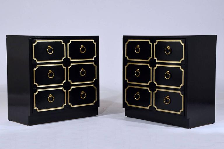 Pair of Dorothy Draper-Style Chest of Drawers 3