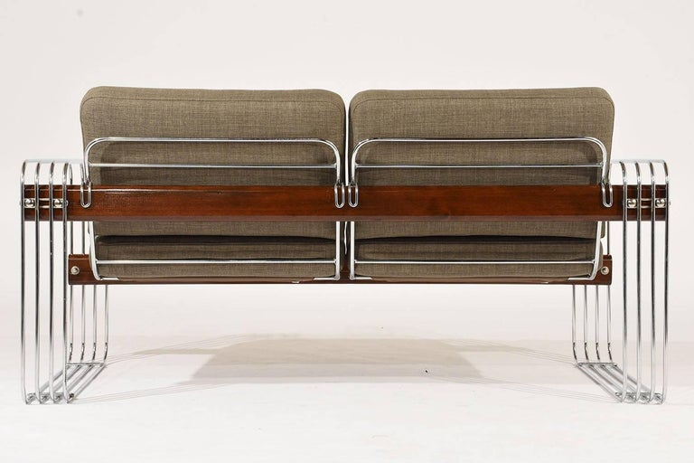 Lacquered Ascona Sofa by Heinz Meier for Landes For Sale
