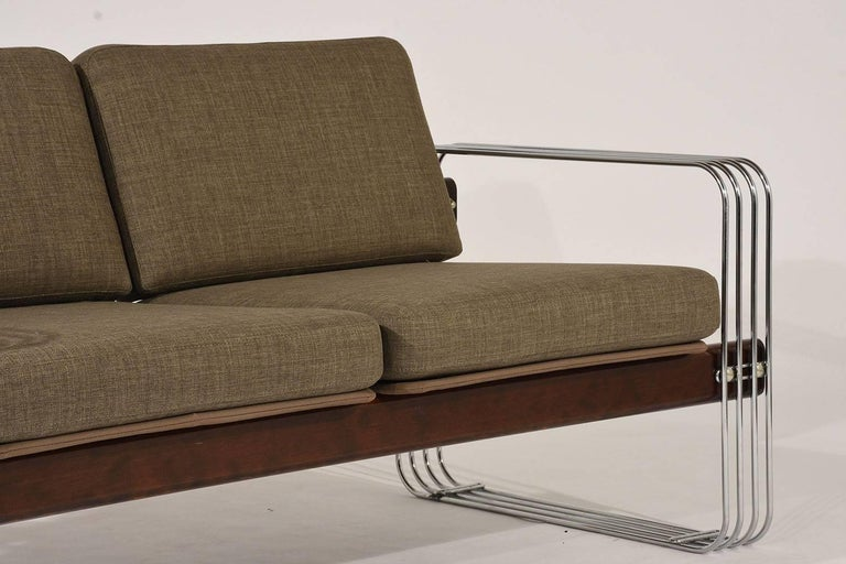 Ascona Sofa by Heinz Meier for Landes In Excellent Condition For Sale In Los Angeles, CA