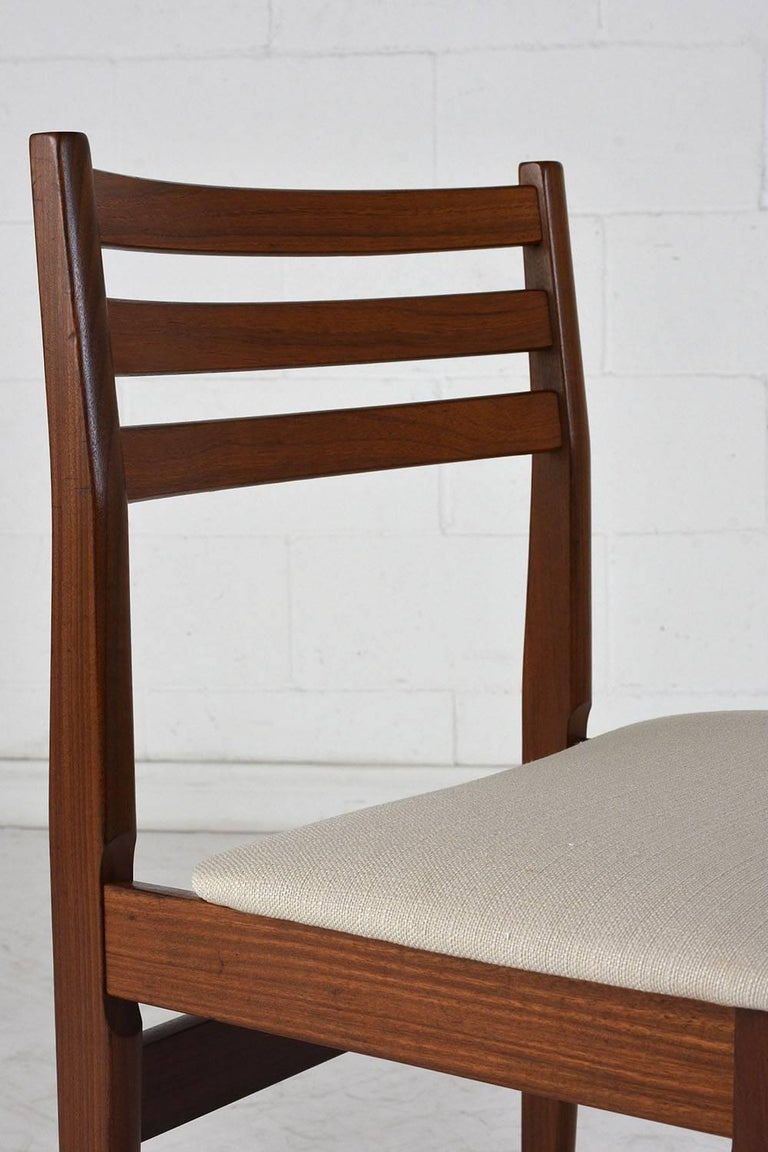 Set of Six Danish Rosewood Dining Chairs For Sale 3
