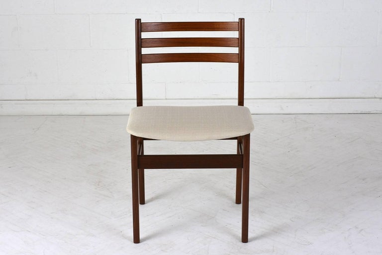 Set of Six Danish Rosewood Dining Chairs In Excellent Condition For Sale In Los Angeles, CA