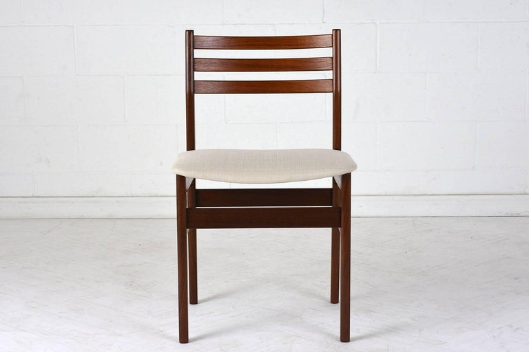 20th Century Set of Six Danish Rosewood Dining Chairs For Sale