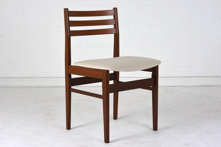 Set of Six Danish Rosewood Dining Chairs For Sale 1