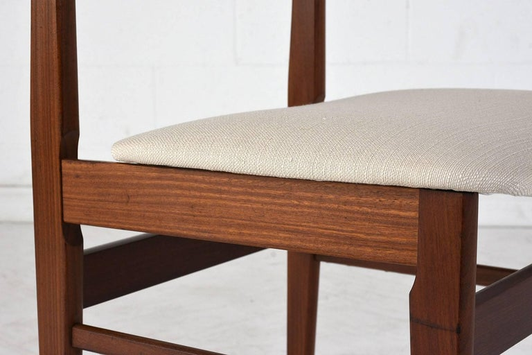 Set of Six Danish Rosewood Dining Chairs For Sale 4